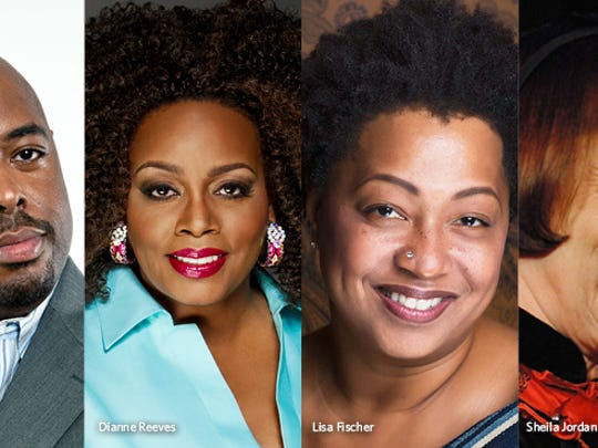 Christian McBride, Dianne reeves, Lisa Fischer and Sheila Jordan