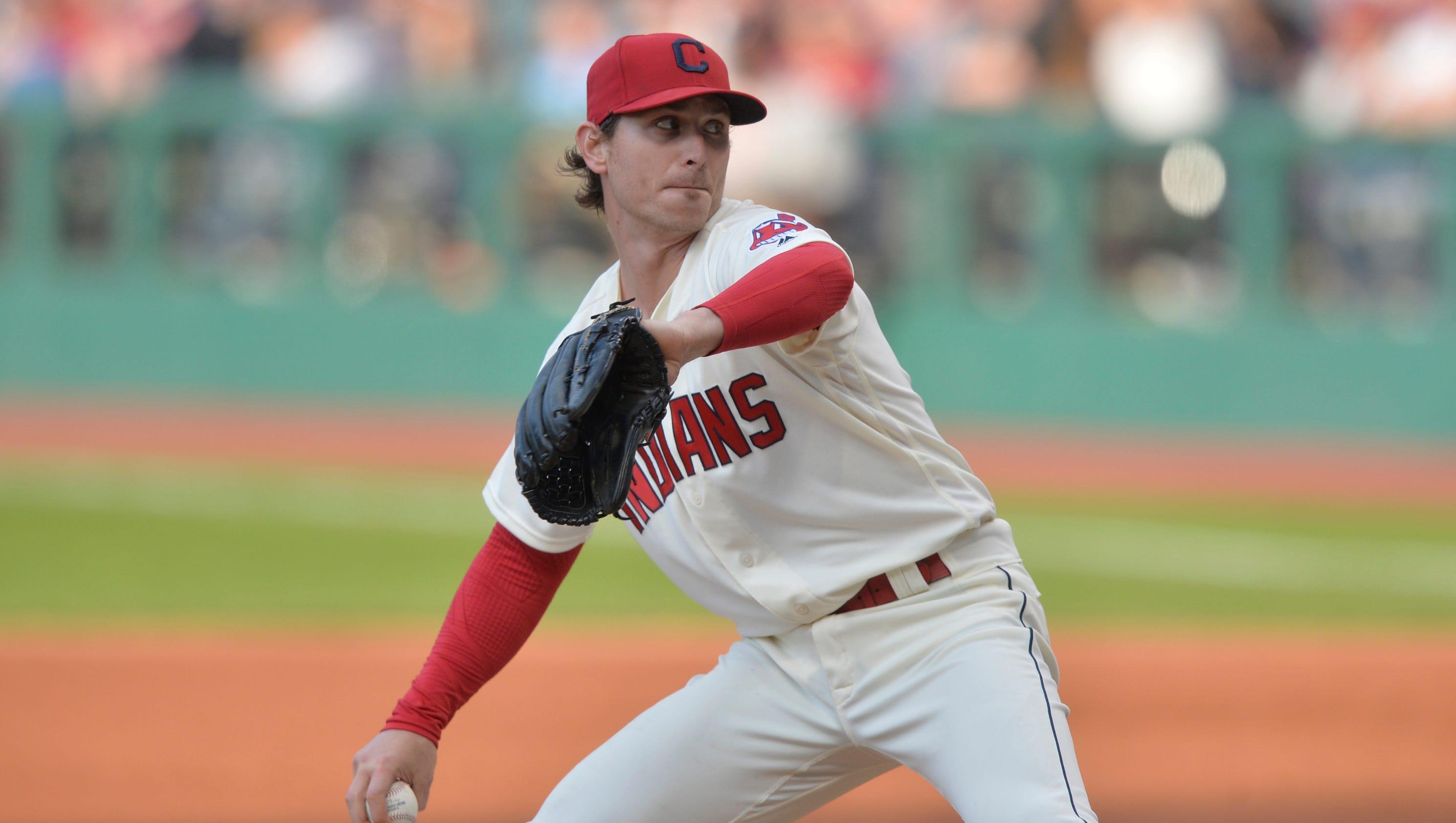 Indians starter Josh Tomlin struggled in his last start vs ...