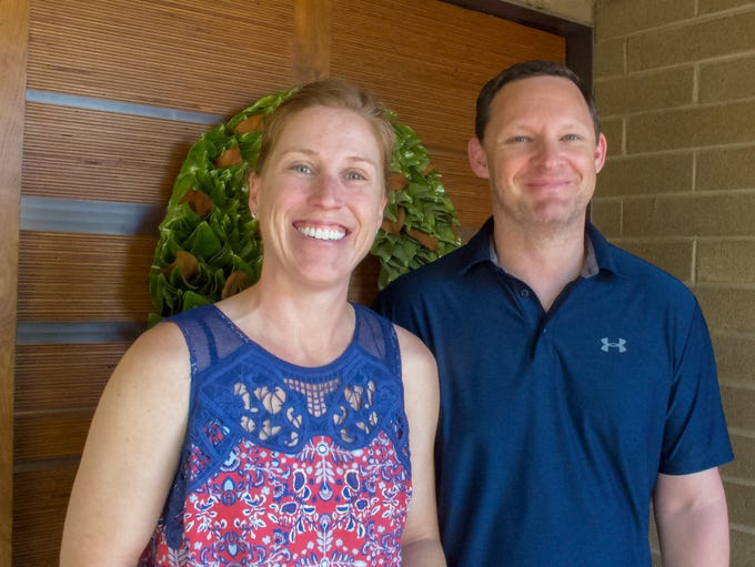 Christine and Stefan Fortman, who have been married
