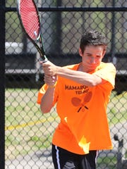 Mamaroneck High School tennis doubles sophomores Connor