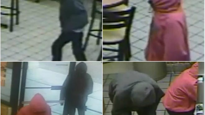 Las Cruces Crime Stoppers is offering a reward of up to $1,000 for information that helps identify the suspects in an armed robbery at a Subway in Las Cruces.