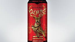 Rudolph's Revenge is now available in cans for the first time from Iron Hill.