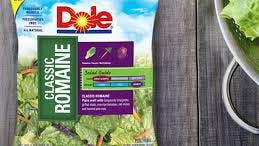 Dole salad mixes packaged in Ohio have been linked to listeria bacteria that sickened 11 and resulted in the death of a Michigan woman