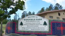 Police questioned a man and woman who visited the park after closing hours early the morning of April 3.
