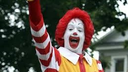 """Ronald McDonald will appear in the Parade of Lights after a hiatus in response to the """"creepy clown"""" phenomenon."""