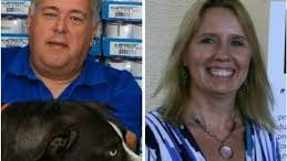 Glenn Johnson, left, and Robin Ward, ousted leaders of the county domestic animal services department, are challenging their firing in Circuit Court.