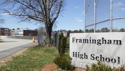 Framingham High Principal Carolyn Banach announced in an email to parents that for the remote-learning start to this school year, classes at Framingham High will start at 9 a.m. and run until 3:25 p.m., shifting from the original 7:25 a.m. to 1:55 p.m.