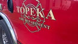 The Topeka Fire Department extinguished a blaze late Saturday afternoon at 206 S.W. Topeka Blvd.