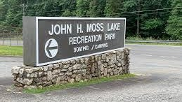 A man's body was found floating in Moss Lake on Friday. Kings Mountain Police don't believe fould play was involved.