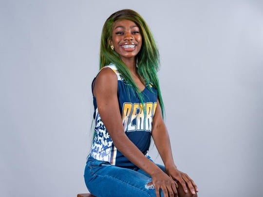 Carencro's Chantaya Griffin won two individual state titles and anchored two relay-winning teams.