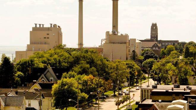 FILE - Manitowoc Public Utilities plant.