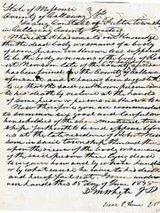 Callaway County Circuit Court documents relating to