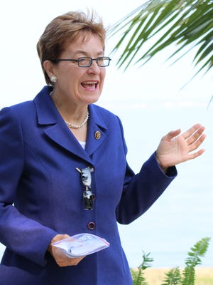 U.S. Rep. Marcy Kaptur noted that 11 million people rely on Lake Erie for drinking water.