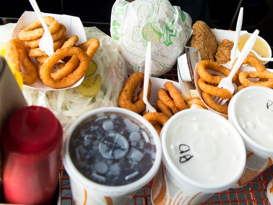 In this file photo from March 2017, A tray full of