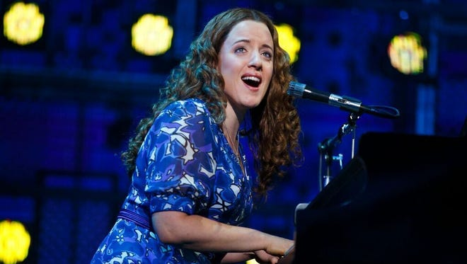 """Abby Mueller in the title role of Broadway's """"Beautiful - The Carole King Musical."""""""