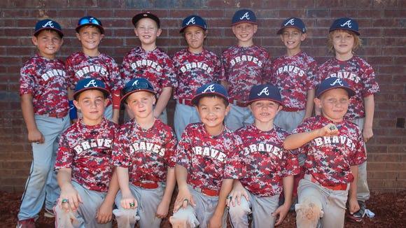 The Asheville Braves 8 and under baseball team.