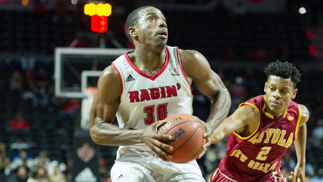 UL's Johnathan Stove has delivered a critical scoring punch off the bench for the Cajuns this season.