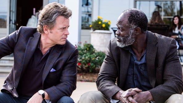 Greg Kinnear and Djimon Hounsou strike up a seemingly