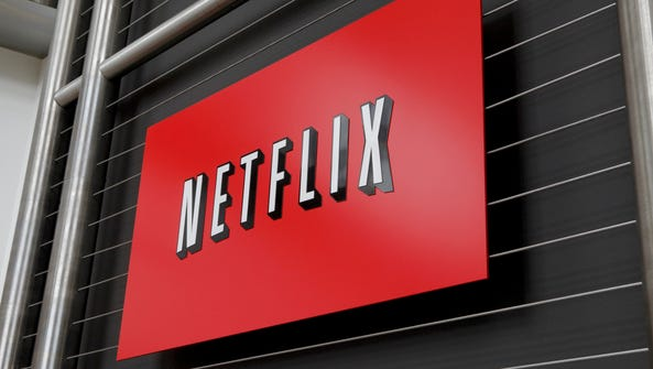 This file photo taken on April 13, 2011 shows the Netflix