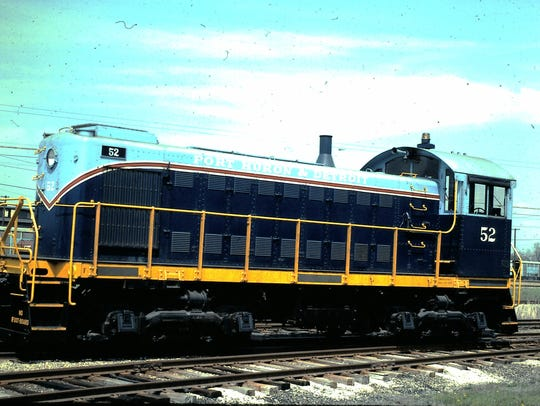 Engine No. 52 was a common sight on the Port Huron