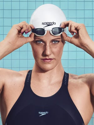 Missy Franklin will swim in Santa Clara as a professional after signing with Speedo.