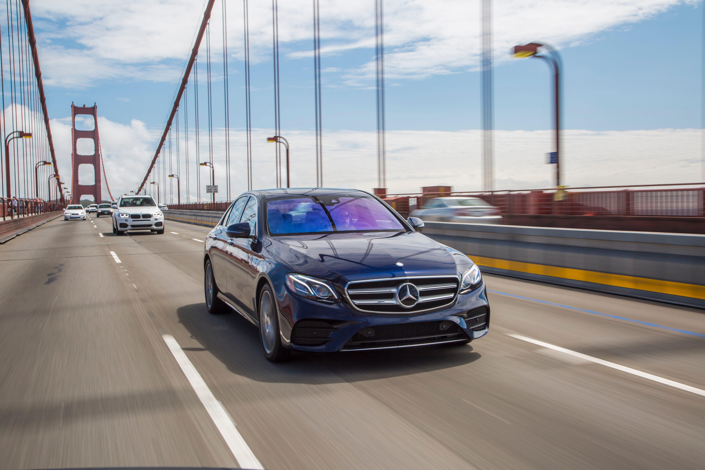 Mercedes-Benz E-Class: System self-test