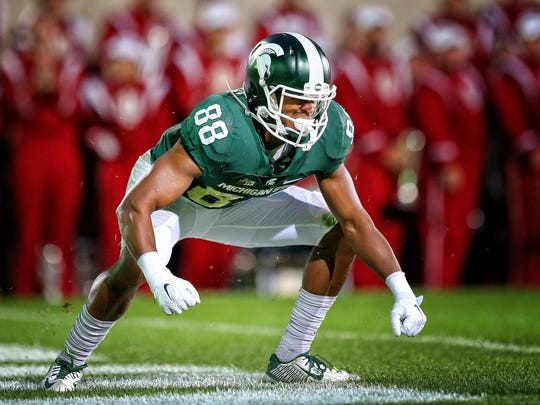 Former Michigan State Spartans wide receiver Monty Madaris enjoyed a homecoming by signing with the Cincinnati Bengals as an undrafted free agent.