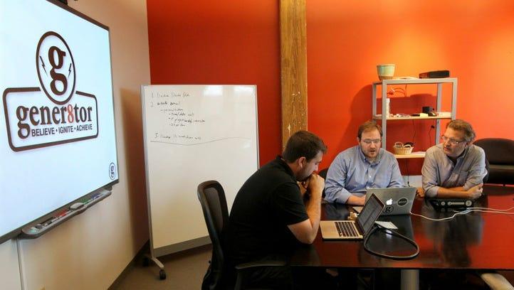 Troy Vosseller Co-founder (left), Joe Kirgues Co-founder,