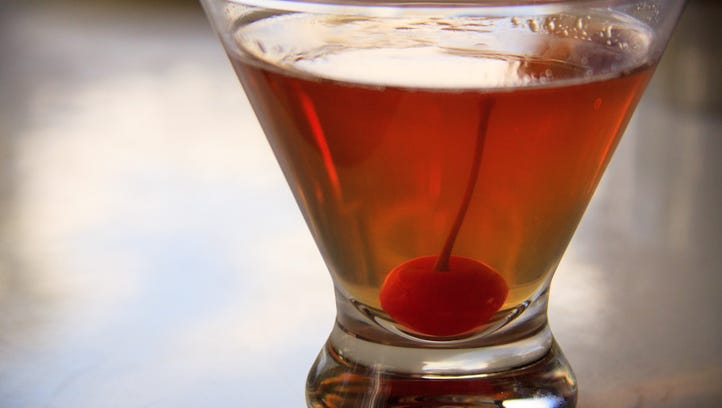The Cherry Gastrique Manhattan is the featured Repeal