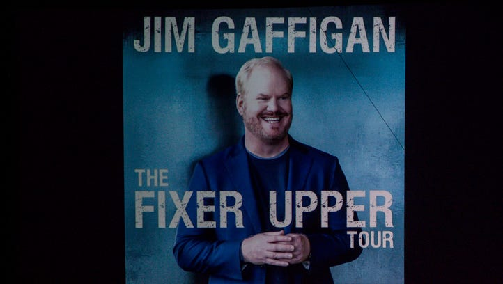 "Jim Gaffigan headlines his ""The Fixer Upper"" tour at"