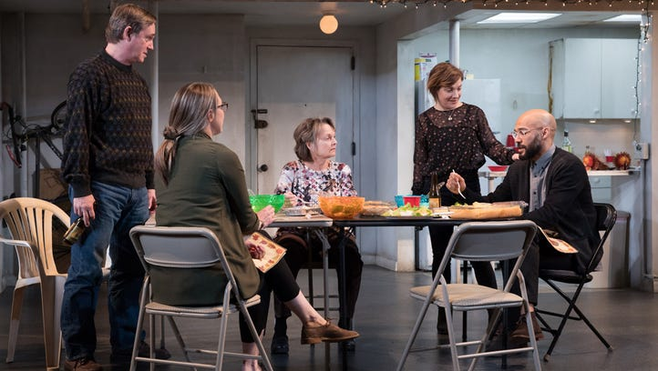 """A scene from """"The Humans"""" at the Seattle Repertory"""
