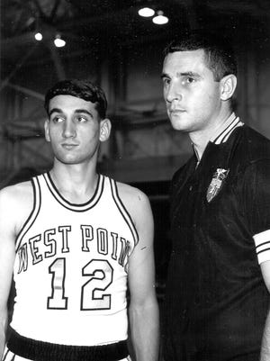 Bob Knight coached Mike Krzyzewski during his years at West Point.