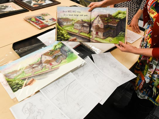 Olivia and Bethany Moy talk about the process of illustrating