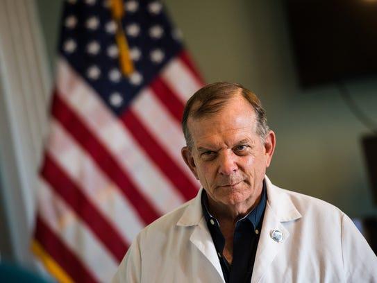Dr. Rex Herbert, an orthopedic surgeon at the Lebanon