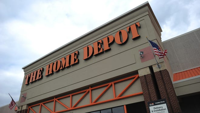 A Home Depot store in Silver Spring, Maryland.