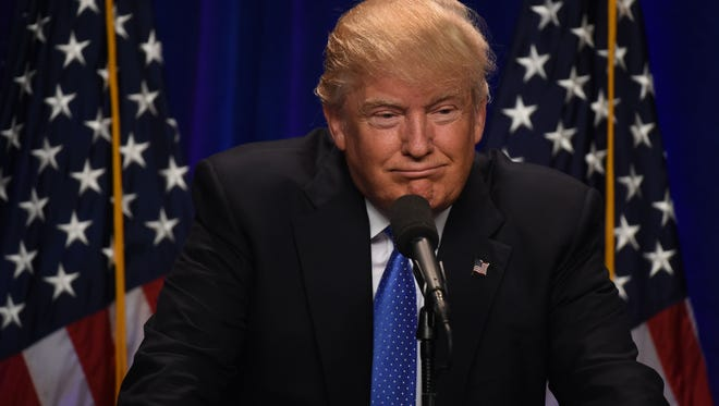 Republican presidential candidate Donald J. Trump will visit Arizona on June 18, 2016.
