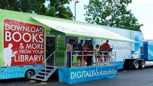 As a part of outreach efforts to communities still recovering from Superstorm Sandy, the Digital Bookmobile National Tour will visit the Eastern Branch of the Monmouth County Library on October 7.