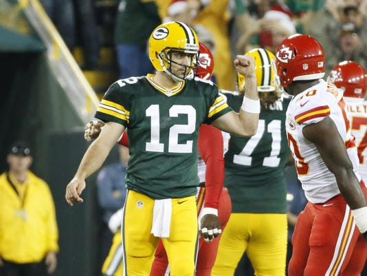 Chiefs Packers Football (2)