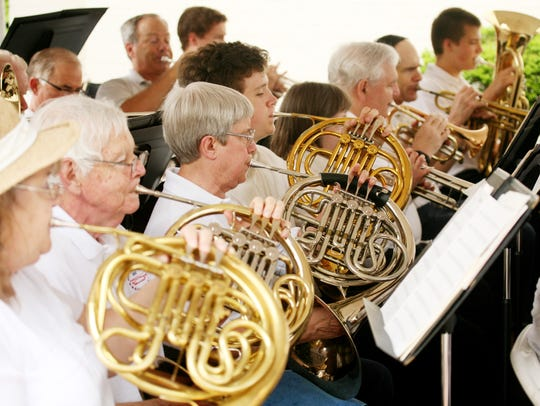 The Stonewall Brigade Band will be performing at the