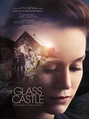 """The poster for """"The Glass Castle."""""""