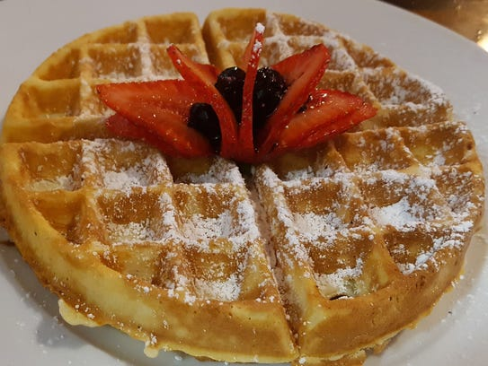 The Belgium Waffle at Love Bites in Saugerties