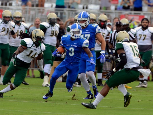 UWF First Home Football Game 2