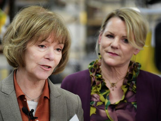 Sensing a threat to the ethanol program, a bipartisan group of Midwestern U.S. senators, including Minnesota Democrats Amy Klobuchar and Tina Smith (left), have called on Pruitt to stop handing out ethanol waivers and reveal who has gotten waivers and why. U.S. Rep. Collin Peterson, D-Minn.