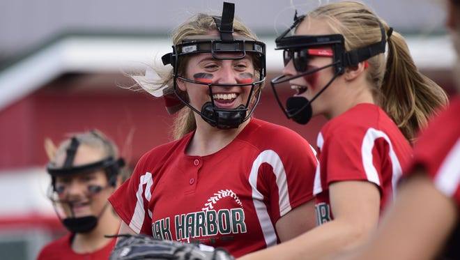 Oak Harbor's Ashley Riley earned all-Ohio status each of the last two years.