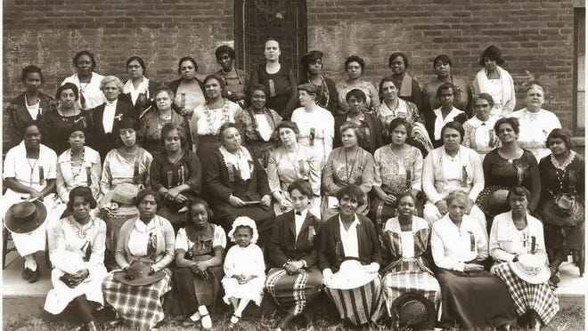 The Montana Federation of Negro Women's Clubs meets in Butte, August 3, 1921.