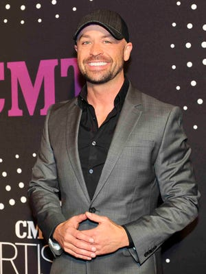 Cody Alan of CMT on the red carpet for the CMT Artists of the Year on Tuesday at the Schermerhorn Symphony Center.