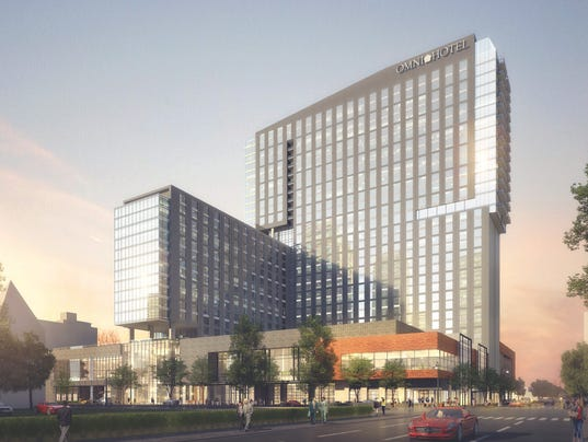 Massive Omni Hotel Project Off To Good Start
