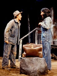 Willem Dafoe (left) plays Mike Hogan in the University