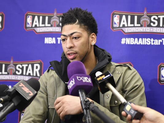NBA: All Star Game-Media Day