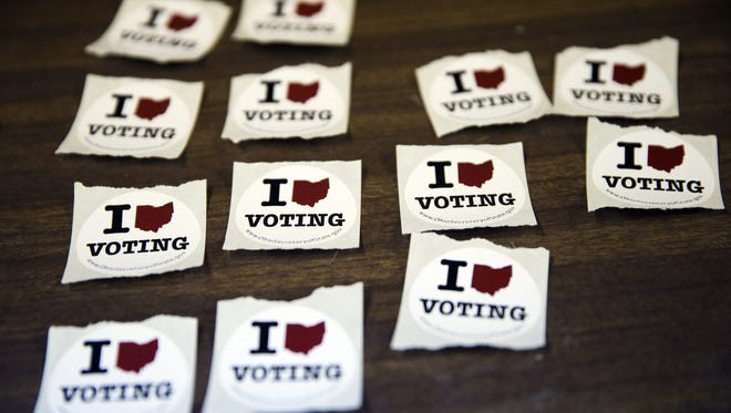 The way some Ohio counties keep track of voters removed from the rolls is a mess.